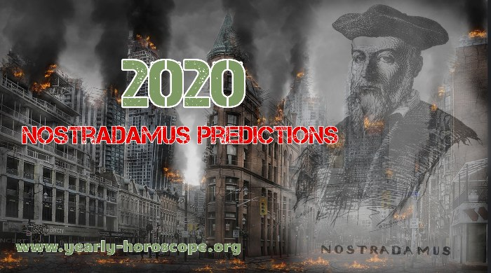 what Nostradamus predicted for 2020